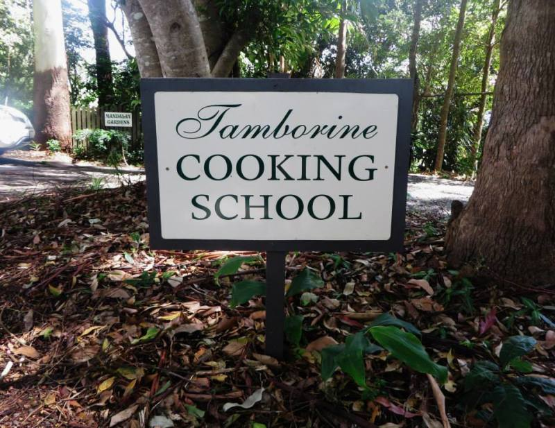 cooking classes Tamborine Mountain, Gold Coast, Brisbane