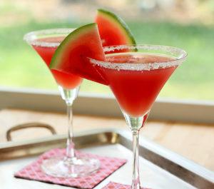 watermelon-martini